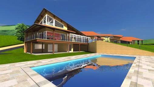 Maison 3D visite virtuelle