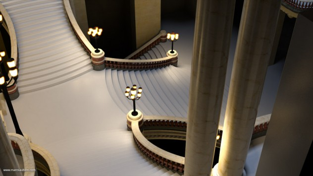opera garnier de paris 3D 01