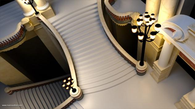 opera garnier de paris 3D 03