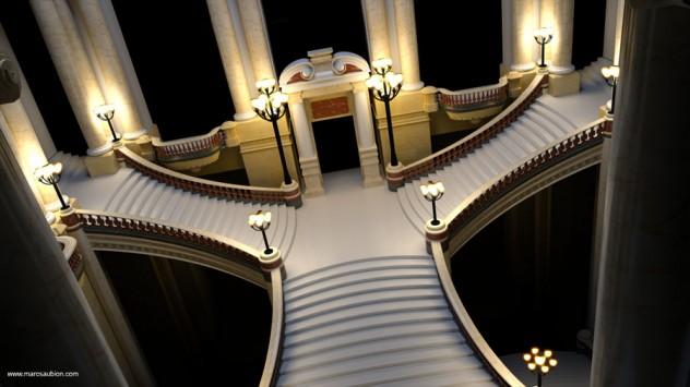 opera garnier de paris 3D 05