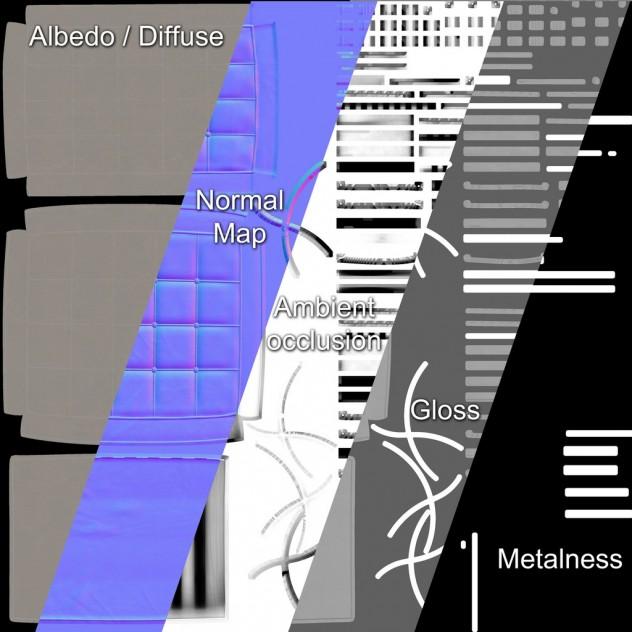 Textures-PBR-materials