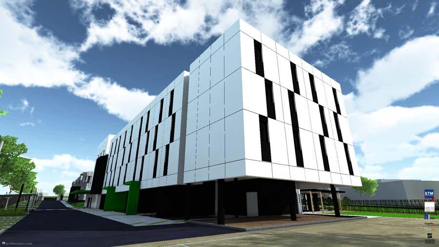 Concours d'architecture: Vinci Construction pour Camborde Architectes.