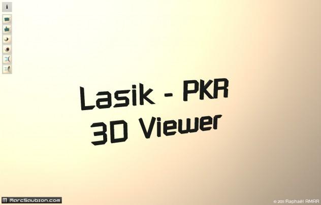 ecran d'accueil visionneuse 3d