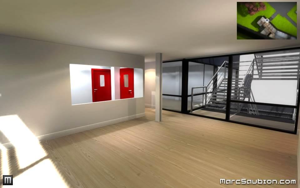hall d'entrée visite virtuelle