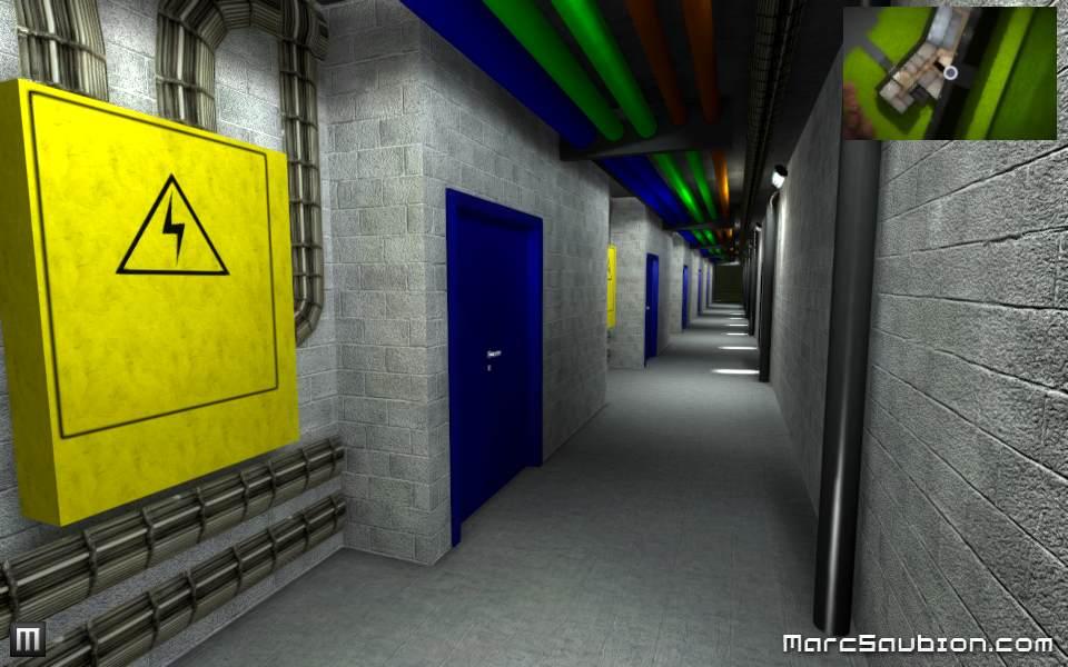 visite virtuelle couloir technique