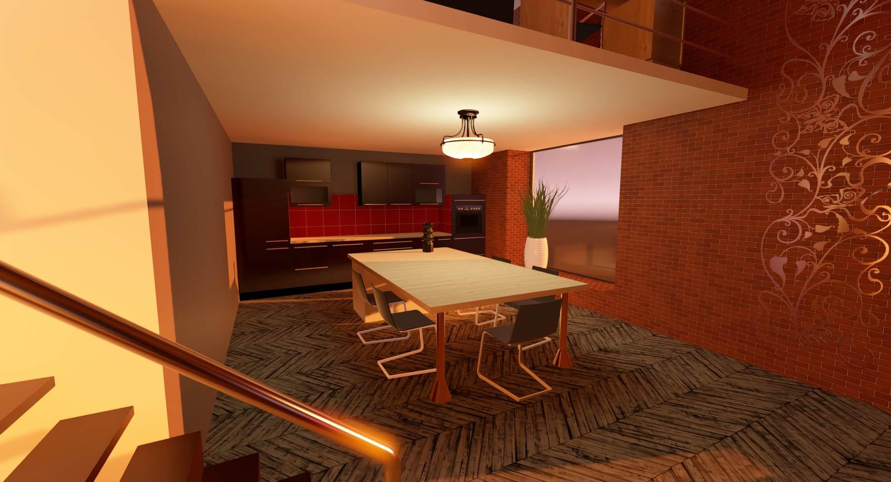 Visite virtuelle d'un loft: démo Unity 5