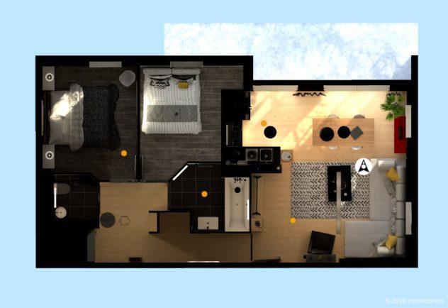 Plan visite virtuelle immobilier